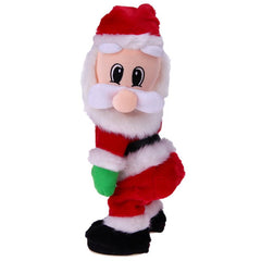 Christmas Electric Twerk Santa Claus Toy Dancing Doll