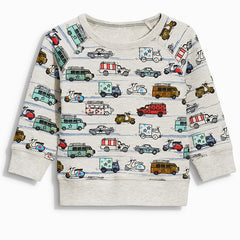 Brand Baby Boys Autumn Tops Tee Shirt