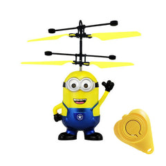 Minion Fly Flashing helicopter