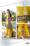 BIN SAAED EMBROIDERED LAWN D.No 03A