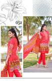 BIN SAAED EMBROIDERED LAWN D.No 05A