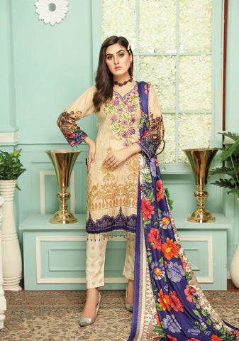 Resham Lawn Vol-2 D.No 07
