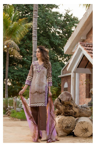 Sahil Embroidered Lawn