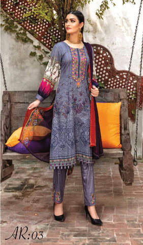 RANGREZ LAWN VOL-18 D.No 03