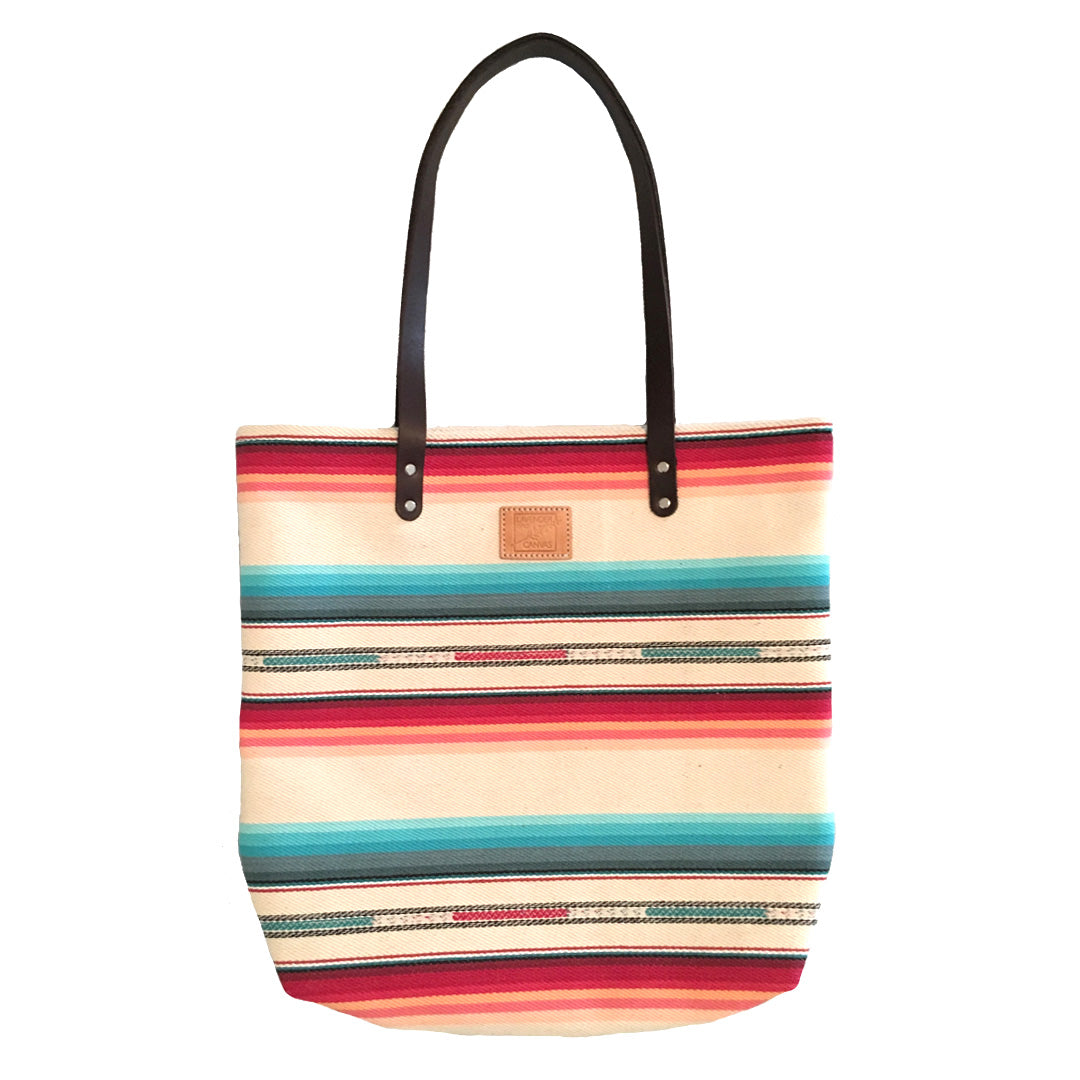 BRIGHT DESERT STRIP FEED BAG