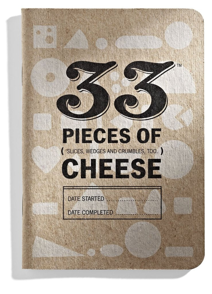 33 PIECES OF CHEESE