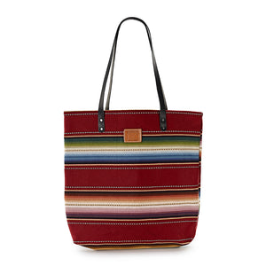 RED SERAPE FEED BAG