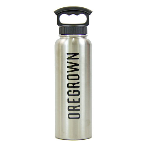 Oregrown 40 oz. Insulated Bottle- Stainless Steel