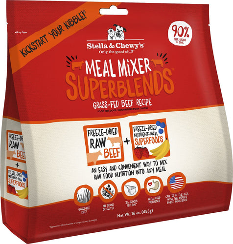 Grass Fed Beef Superblends Meal Mixer