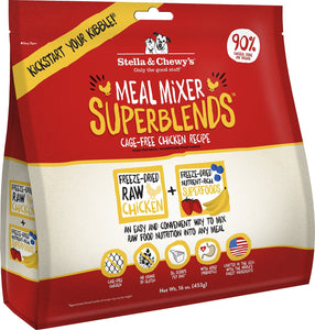 Cage-Free Chicken Recipe Superblends Meal Mixer
