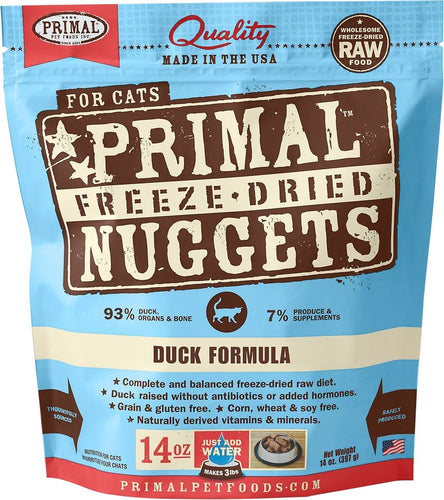 Primal Cat Raw Freeze Dried Duck Formula