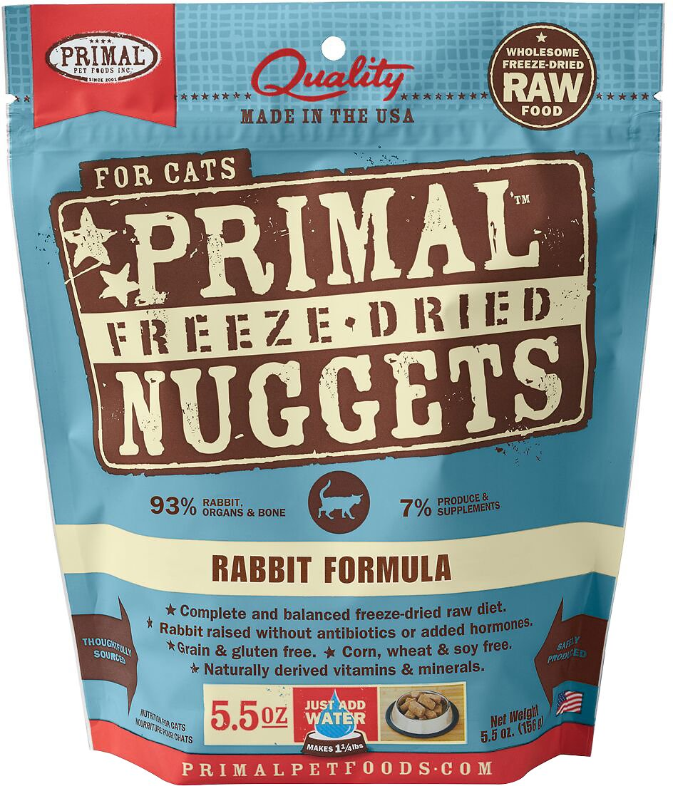 Primal Cat Raw Freeze Dried Rabbit Formula