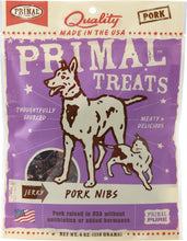 Primal Dog Treat - Jerky Pork Nibs