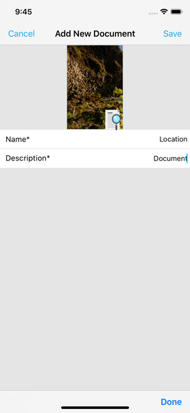 add document landlord studio app