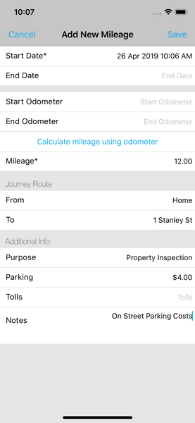 Add Mileage to Landlord Studio App 2