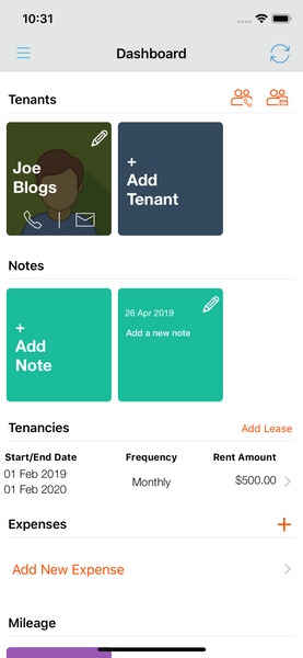 Add Notes to Landlord Studio 3