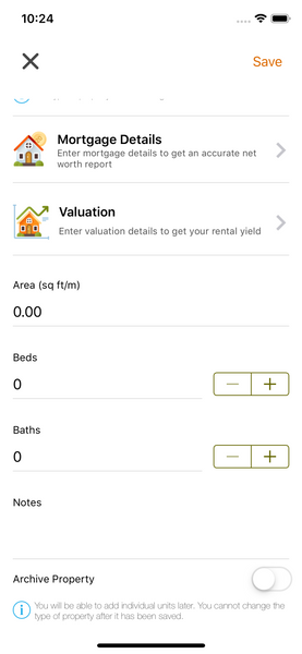 Add property to Landlord Studio App 5