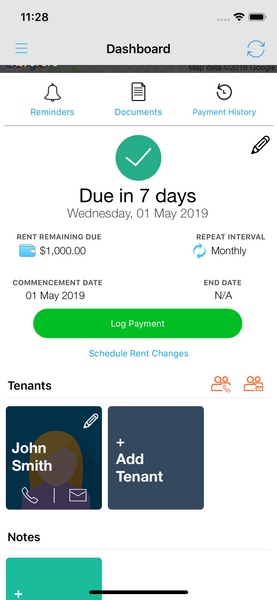 Add Tenants to Landlord Studio App 1