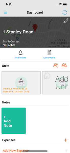 Add reminder to Landlord Studio App