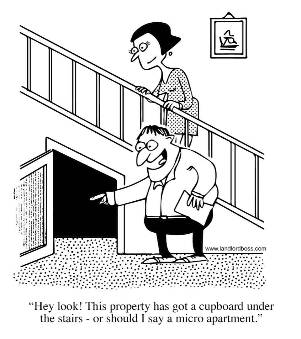 The landlord times comic strip image