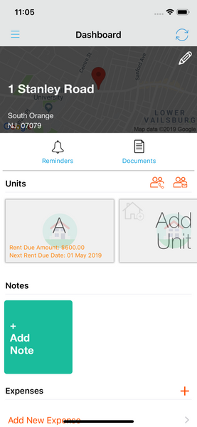 valuation on Landlord Studio App