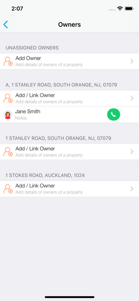 Add Owner Landlord Studio App 1