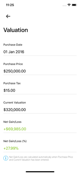 Valuation Landlord Studio App