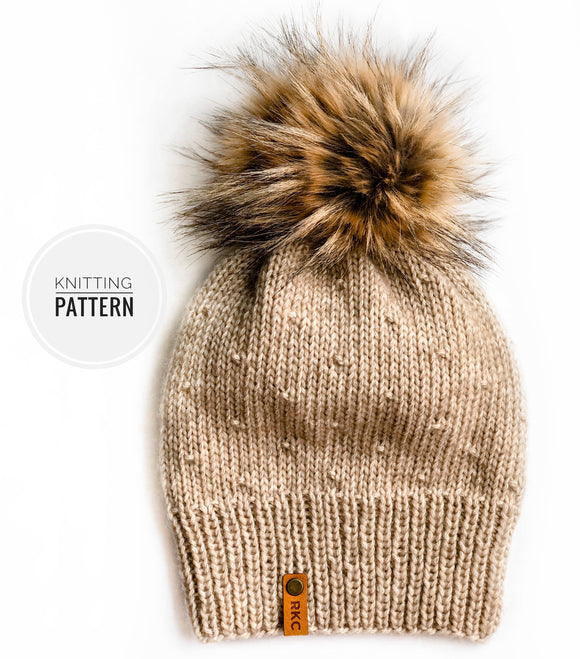The Florence Beanie Knitting Pattern