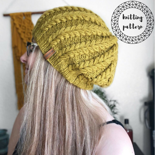 The Mira Beanie Knitting Pattern