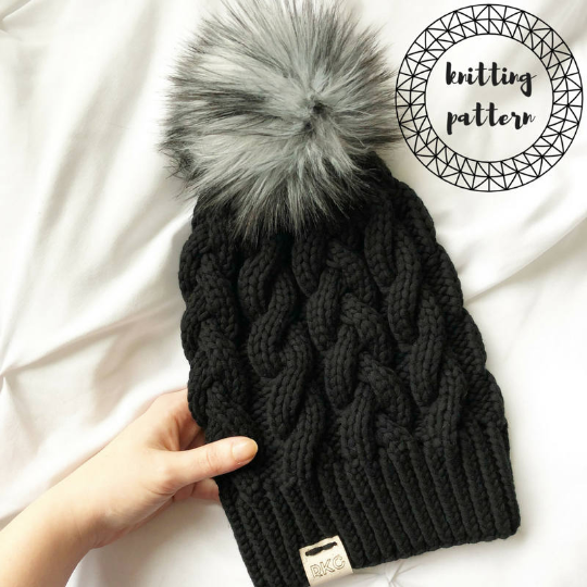 The Effie Beanie Knitting Pattern