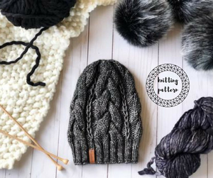 The Juniper Beanie Knitting Pattern
