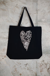 "Petals 2019 ""Have  A Heart"" Canvas Market Bag"