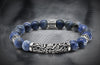 Regal Sodalite And Silver Bali tube