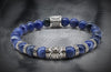 Essential Sodalite Silver beads and spacer