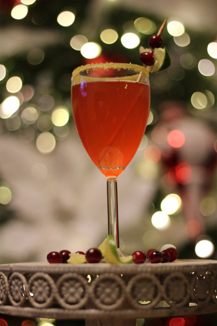 Under The Mistletoe Holiday Punch Recipe