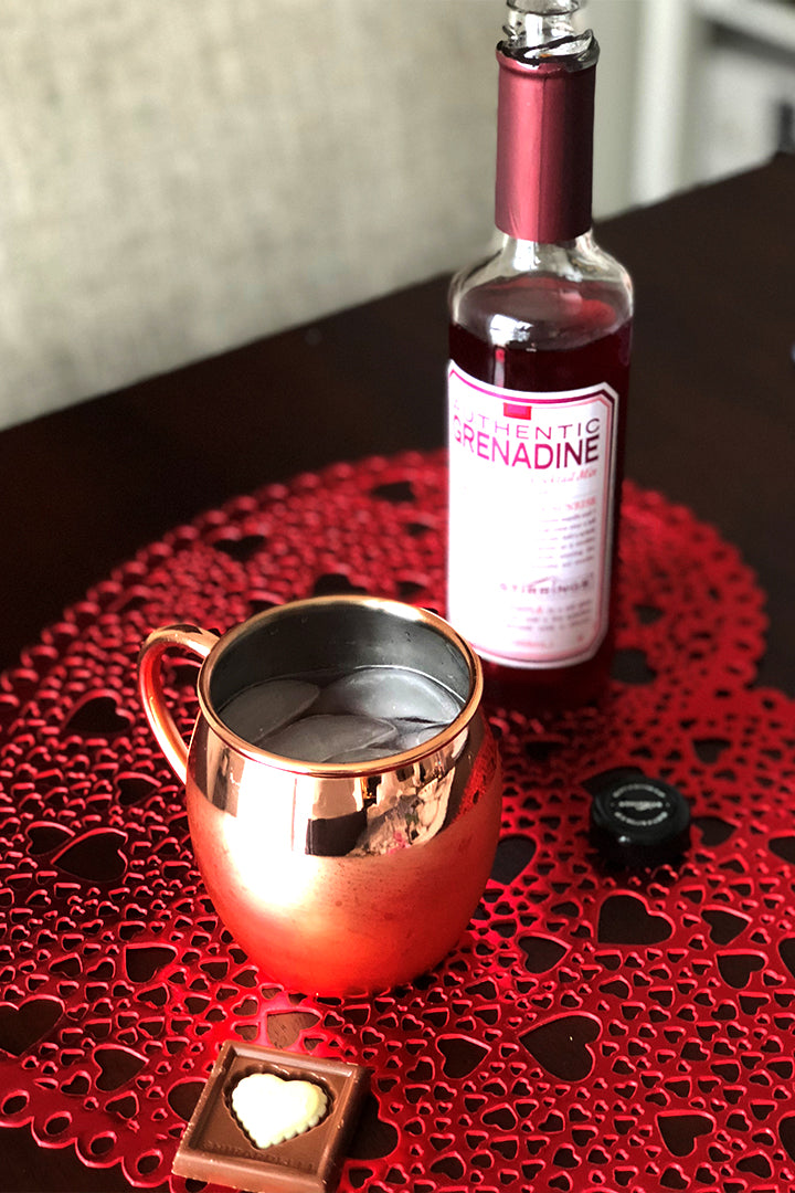 Valentine's Day Moscow Mule Recipe