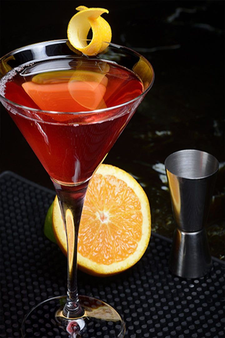 Simple Blood Orange Martini