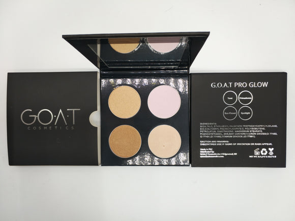 G.O.A.T Glow Pro Highlighter Palette