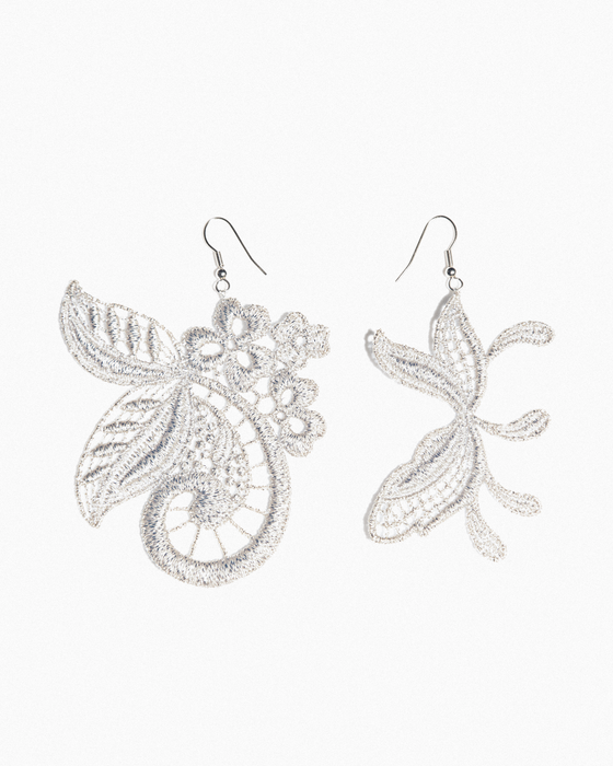 Paisley & leaves earrings
