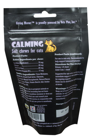 Calming Chews For Cats