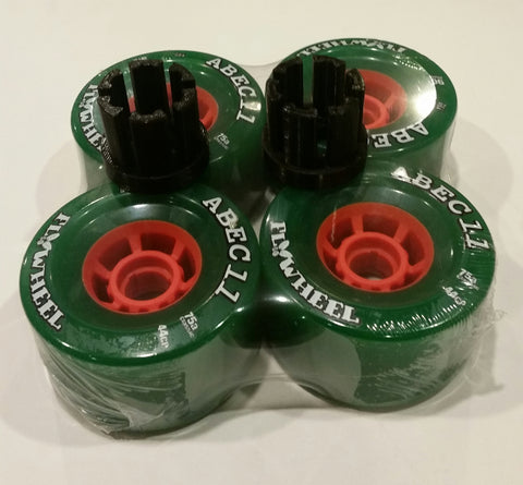 Set of ABEC 11 Flywheels and Dual Adapters