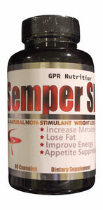 Semper Slim Natural Weight Loss Agent