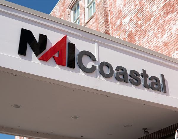 NAI Coastal signage in Salisbury Maryland