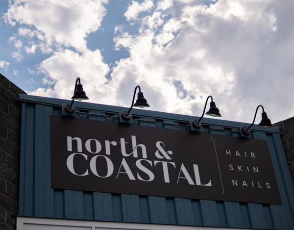 North and Coastal Salon Commercial Aluminum Sign in Ocean City Maryland