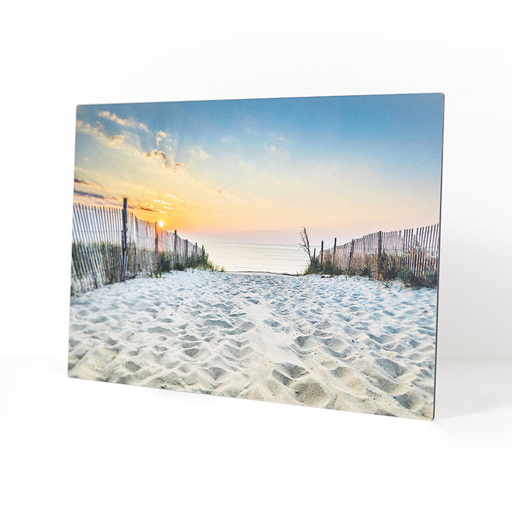 10.5 x 16.5 White Metal Print - Picture on Metal