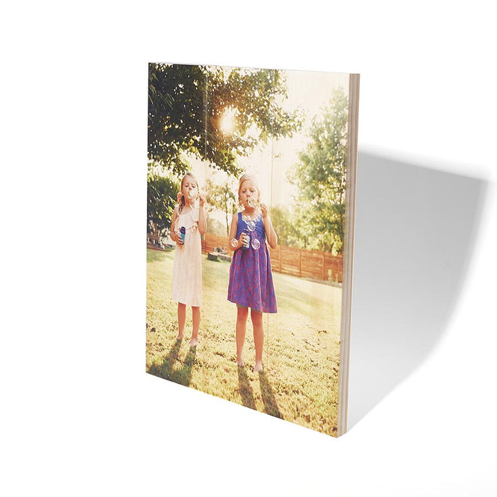14 x 10.5 Planked Wood Print - Pictures on Wood