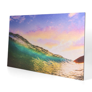 23.5 x 38.5 Brushed Metal Print
