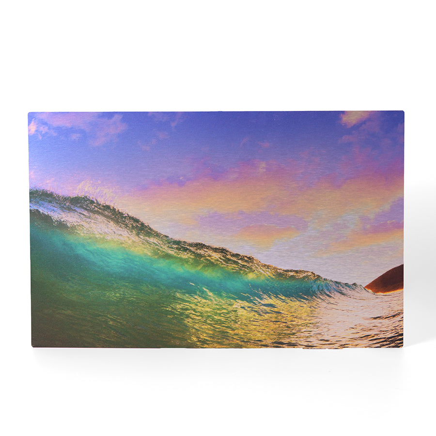 23.5 x 38.5 Brushed Metal Print - Metal Print - Plak That Printing Company