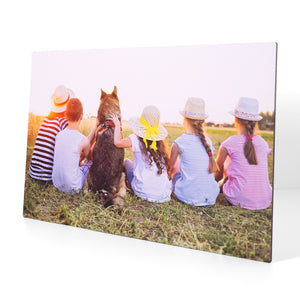 23.5 x 38.5 White Metal Print - Pictures on Metal