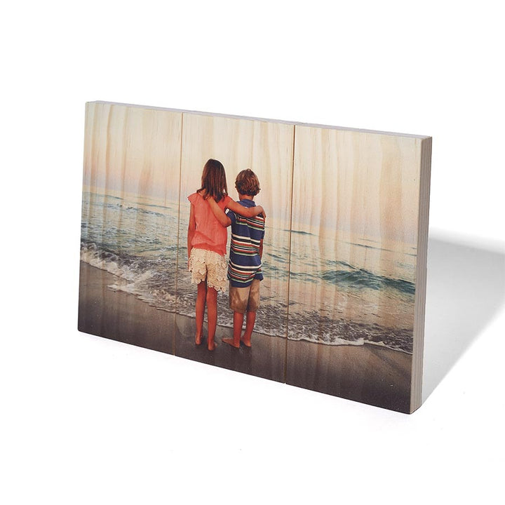 6.75 x 10.5 Planked Wood Print - Pictures on Wood